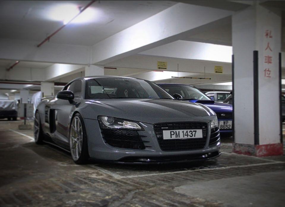 Chiếc siêu xe Audi R8 lúc chưa xảy ra tai nạn đáng tiếc
