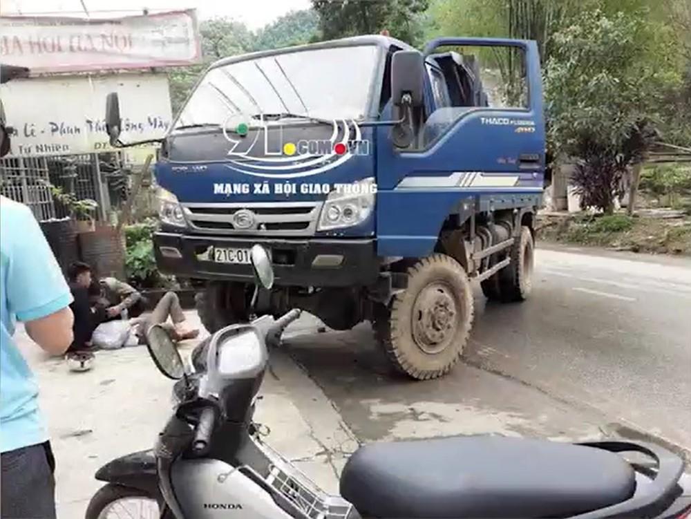 Tài xế ô tô tải đã vi phạm quy định về nồng độ cồn