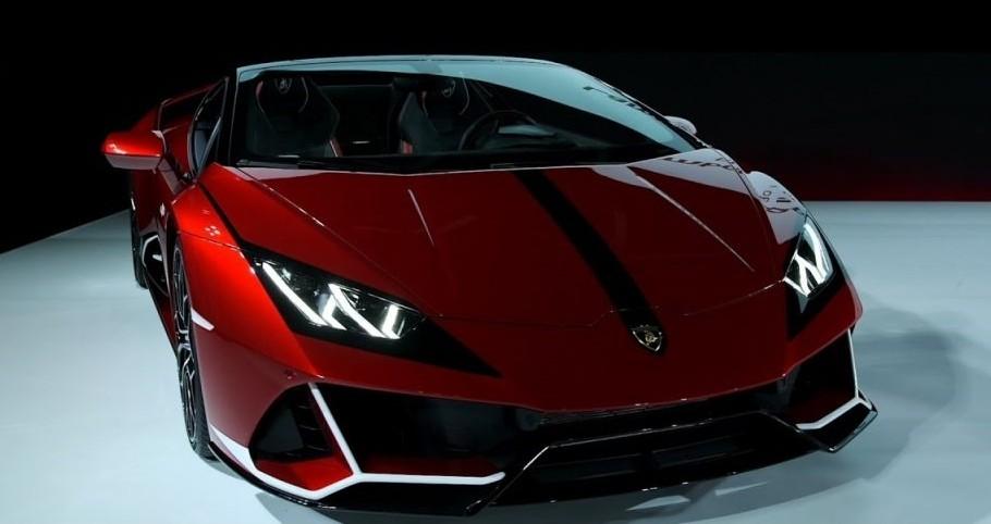 """Hiện chưa rõ mức giá lăn bánh của siêu xe Lamborghini Huracan EVO Spyder """"Kabuki"""" khi đến Nhật Bản, chỉ biết rằng, Lamborghini Huracan EVO Spyder được bán với giá khởi điểm từ 284.700 đô la tại thị trường Mỹ."""
