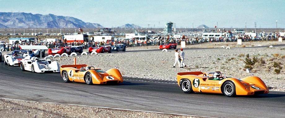 Chiếc xe đua M6A tại giải Can-Am 1967