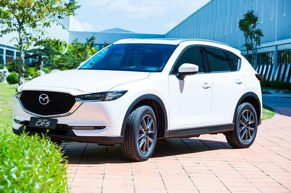 Mazda CX-5 cũng nhận được ưu đãi lên tới 50 triệu đồng.