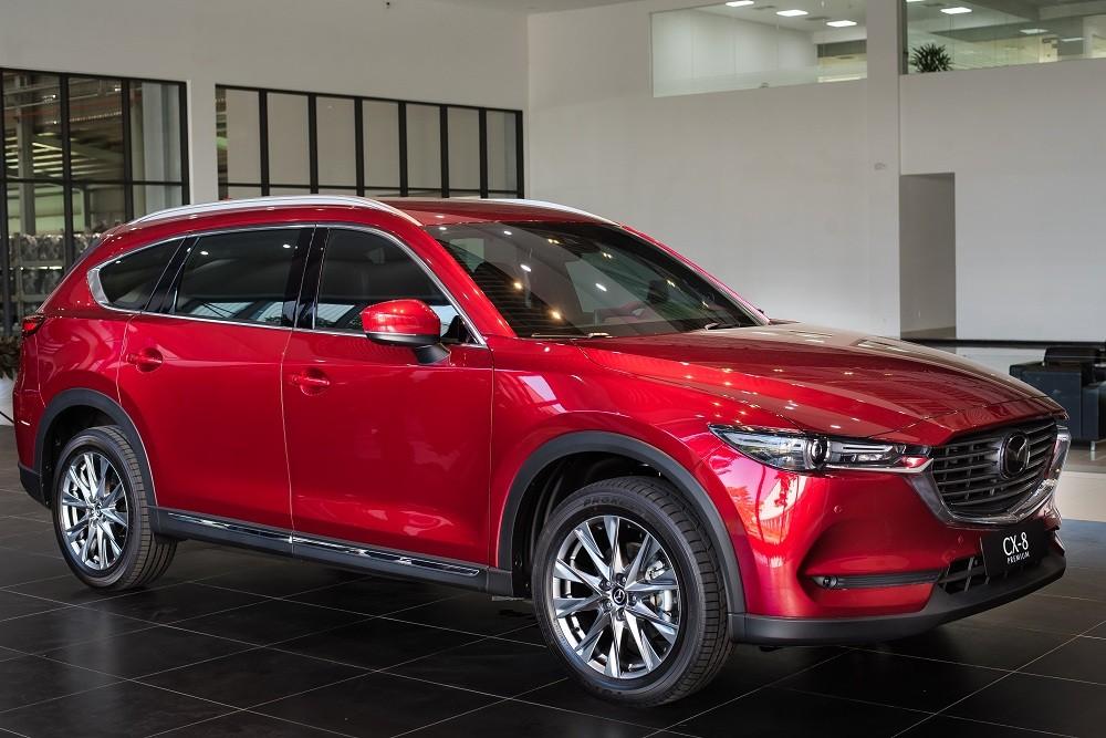 Trong tháng 3/2020, Mazda CX-8 nhận được mức ưu đãi tới 100 triệu đồng.