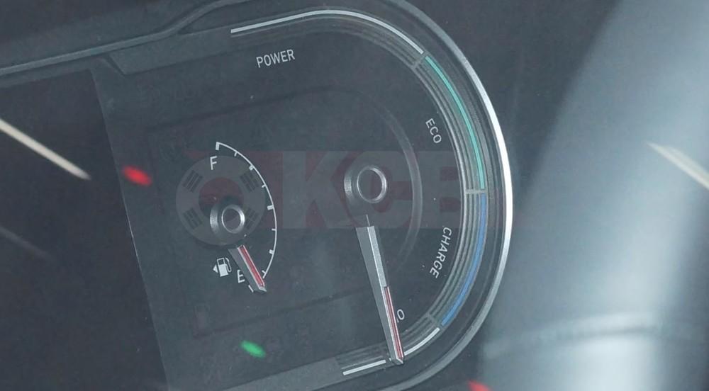 Bảng đồng hồ được cho là của Hyundai Tucson Hybrid 2021