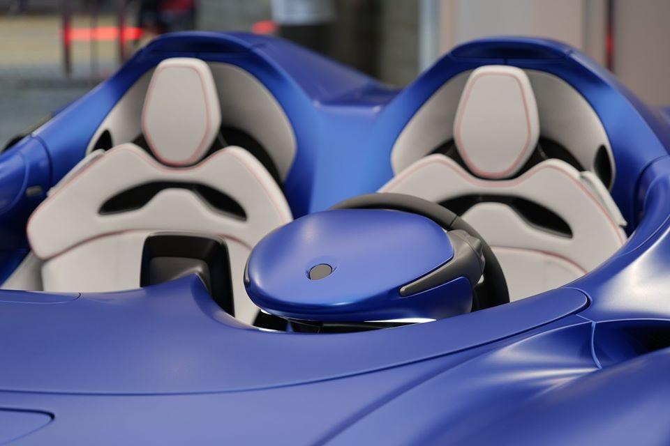 Trái tim của McLaren Elva là khối động cơ xăng V8, tăng áp kép, dung tích 4.0 lít tương tự đàn anh Senna.