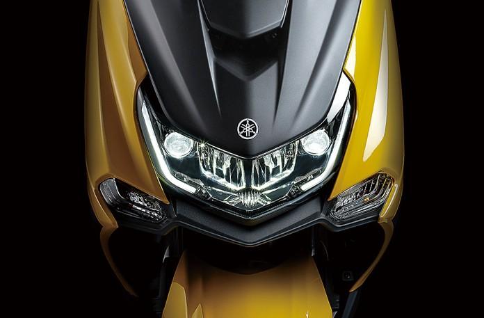 Hệ thống chiếu sáng trên Yamaha Majesty S 155