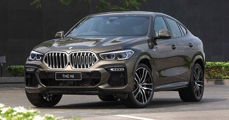 BMW X6 2020 ra mắt tại Thái Lan