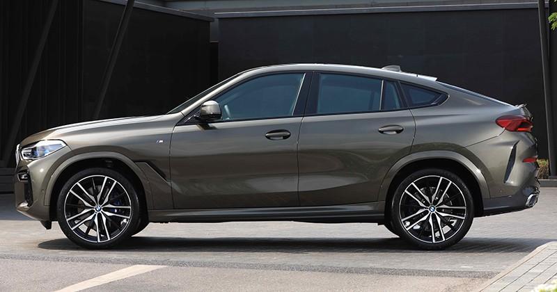 BMW X6 2020 tại Thái Lan có gói phụ kiện ngoại thất M Drive tiêu chuẩn
