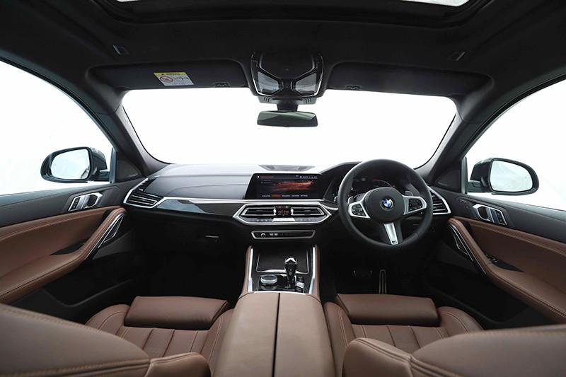Nội thất của BMW X6 2020 tại Thái Lan