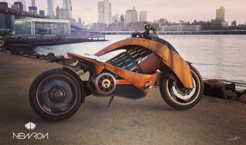 Siêu mô tô điện Newron EV-1