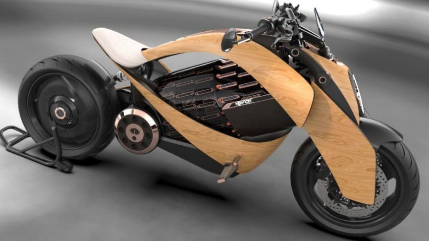 Newron EV-1 được định vị ở phân khúc xe mô tô điện cao cấp