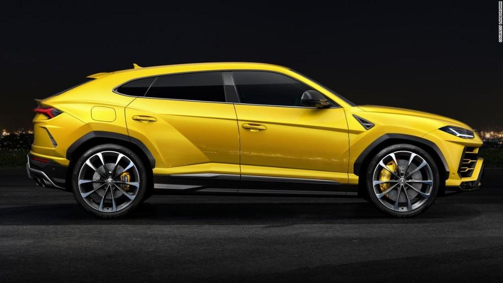 Lamborghini Urus sở hữu phanh đĩa lớn nhất thế giới vào thời điểm ra mắt