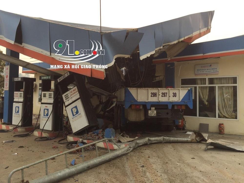 Hiện trường vụ tai nạn tại tỉnh Lai Châu