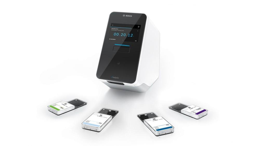 Bộ thiết bị chẩn đoán nhanh COVID-19 của Bosch