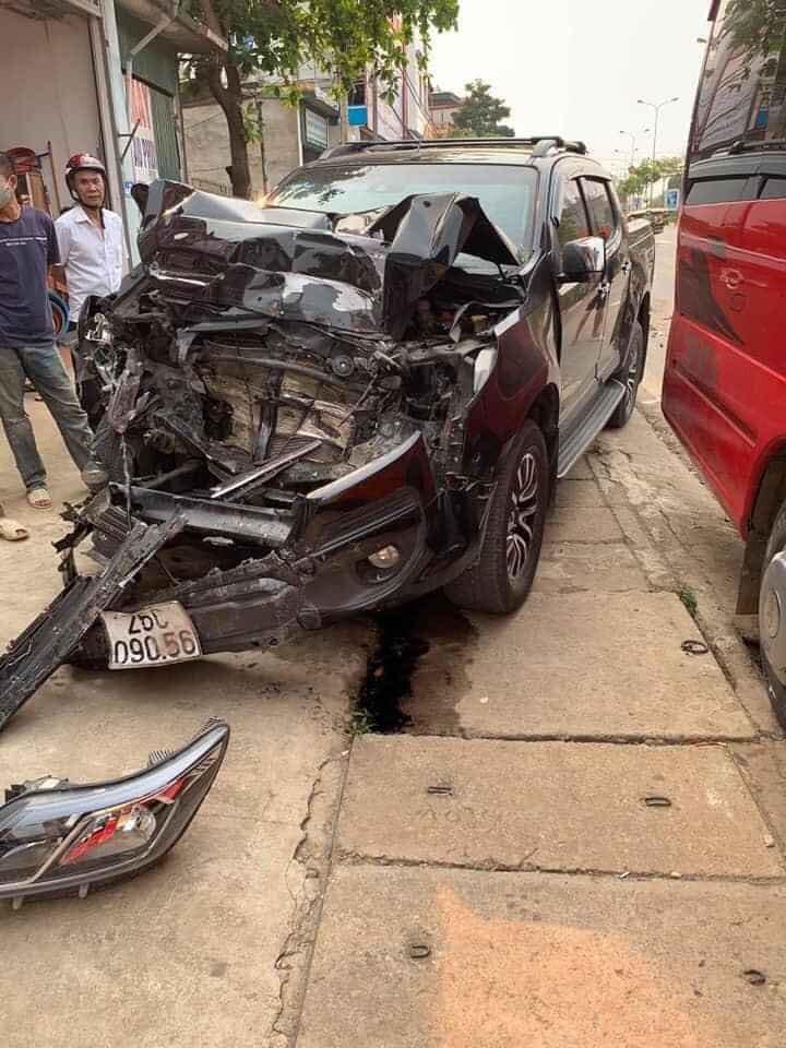 Không có ai bị thương vong trong vụ tai nạn này