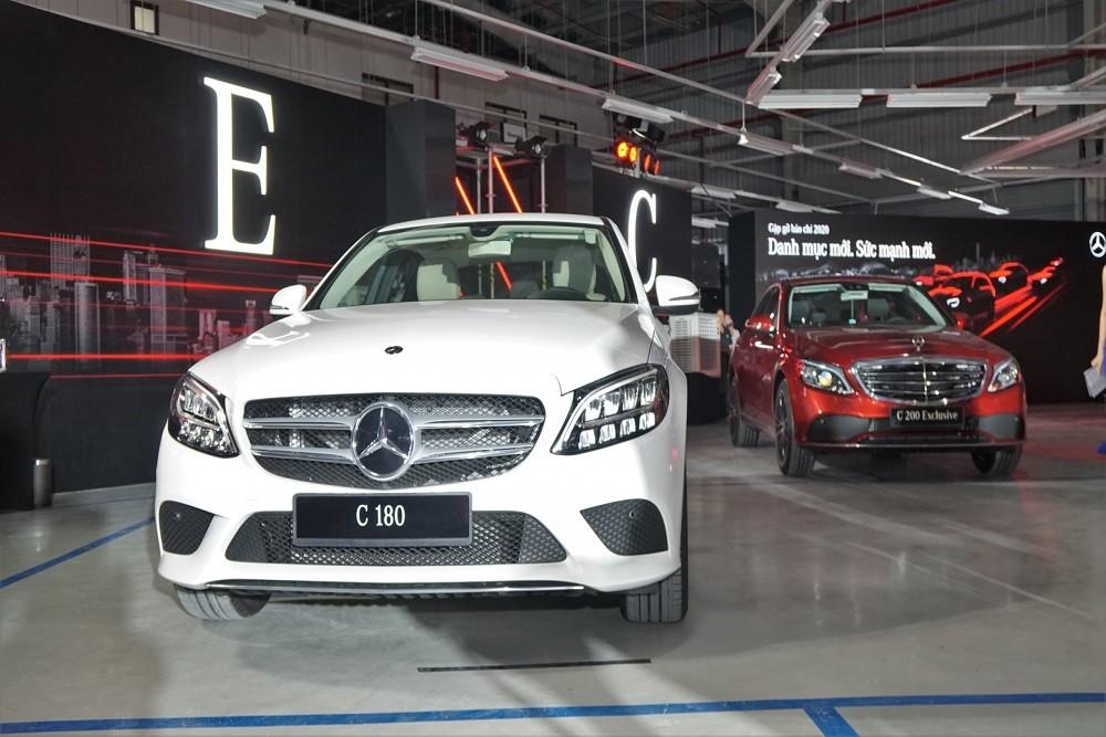 Mercedes C180 2020 được trang bị nhiều công nghệ an toàn