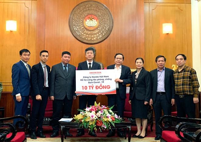 Honda Việt Nam sẽ đồng hành cùng chính phủ và người dân Việt Nam trong cuộc chiến chống lại virus Covid-19.