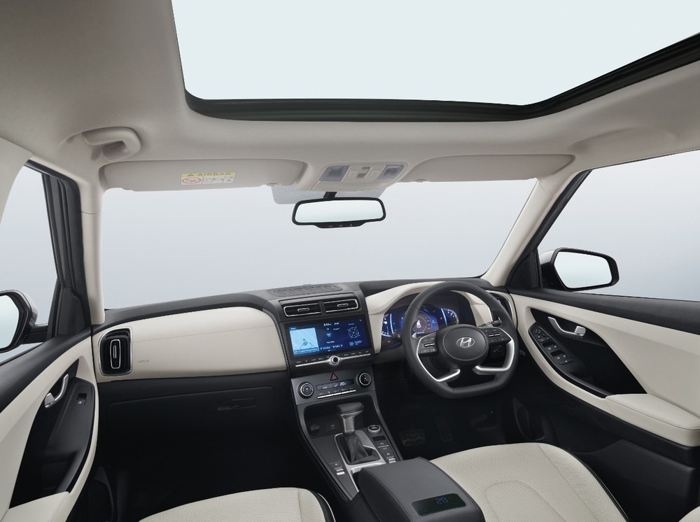 Nội thất bên trong Hyundai Creta 2020 bản 5 chỗ