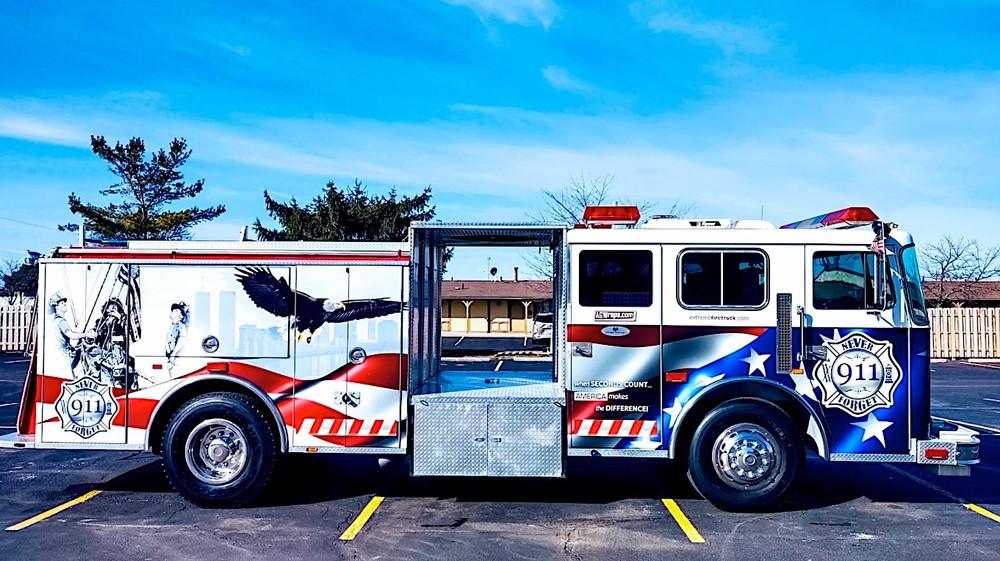 Seagrave 1992 là một chiếc xe cứu hỏa đặc biệt được chế tạo để tri ân tới những người thiệt mạng trong sự kiện 11/9