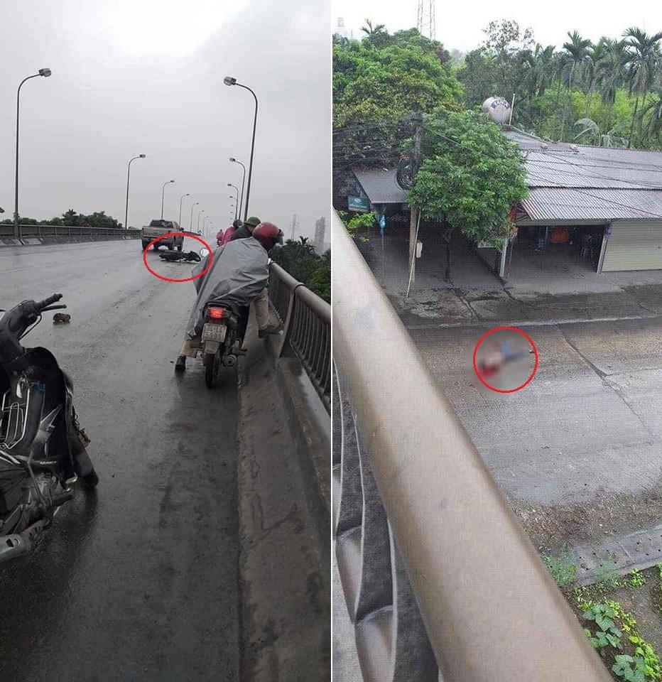 Hiện trường vụ tai nạn khiến 1 người đàn ông tử vong