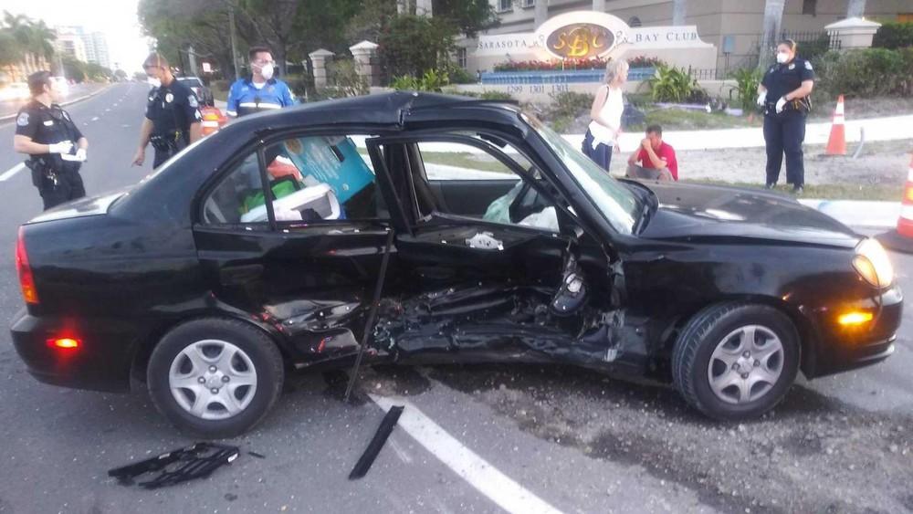 Còn đây là hư hỏng của xe Hyundai Accent