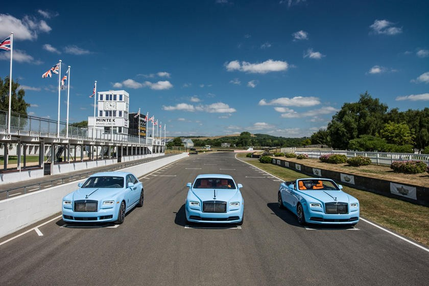 This set of 3 Rolls-Royce Paradiso Collection was launched by the British luxury car company in 2018