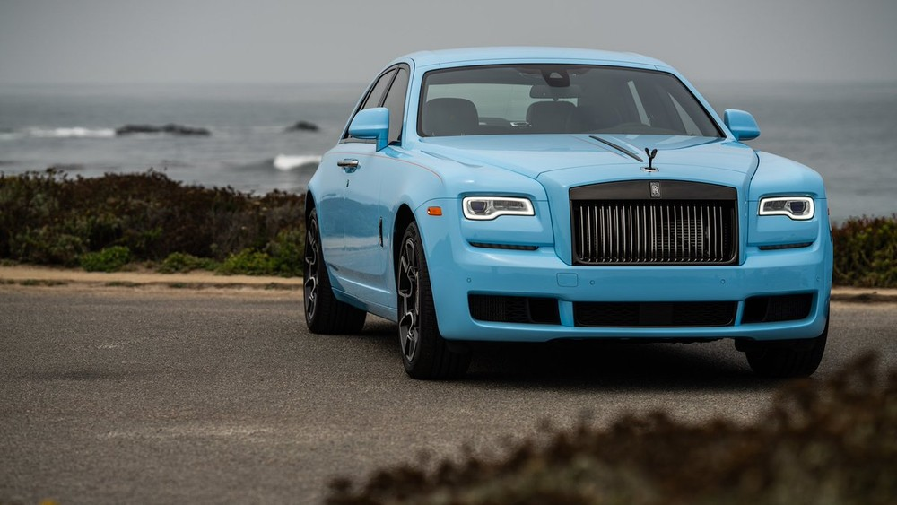 The Rolls-Royce Ghost Black Badge is part of the Rolls-Royce Paradiso Collection