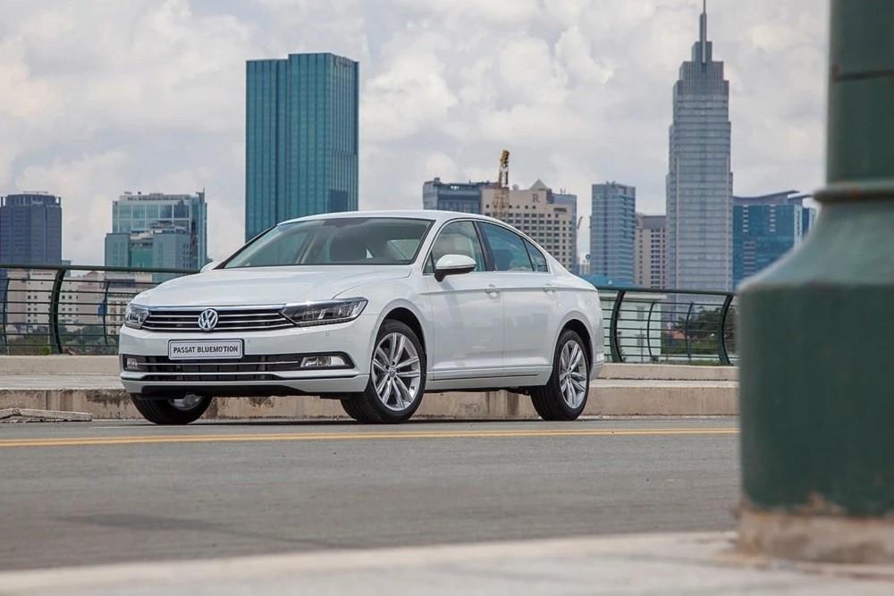 Ngoại thất xe Volkswagen Passat