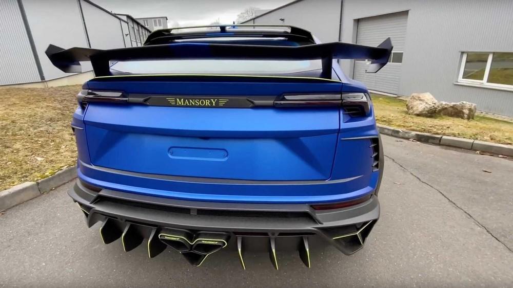 Phía sau của chiếc Lamborghini Urus độ bởi Mansory
