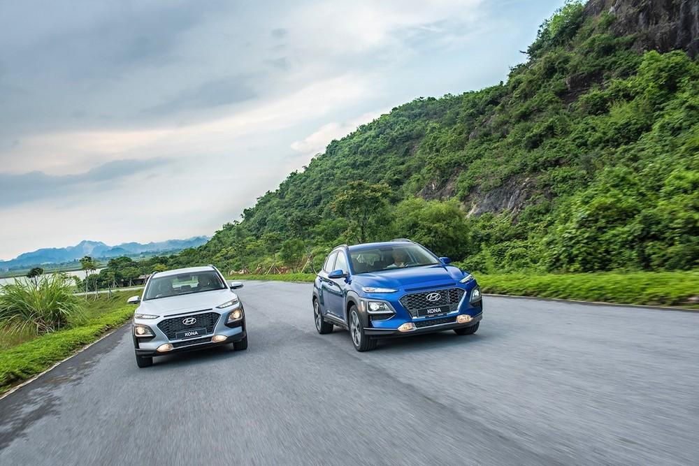 Hyundai Kona đang được các đại lý áp dụng ưu đãi giảm giá tiền mặt