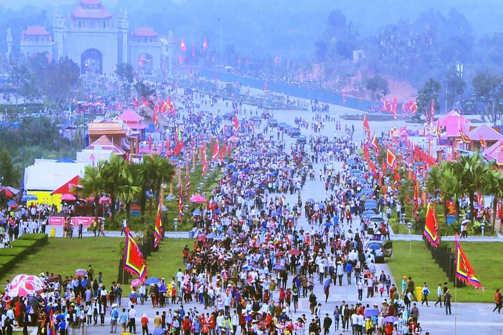 Lễ hội Giỗ tổ Hùng Vương ở Phú Thọ