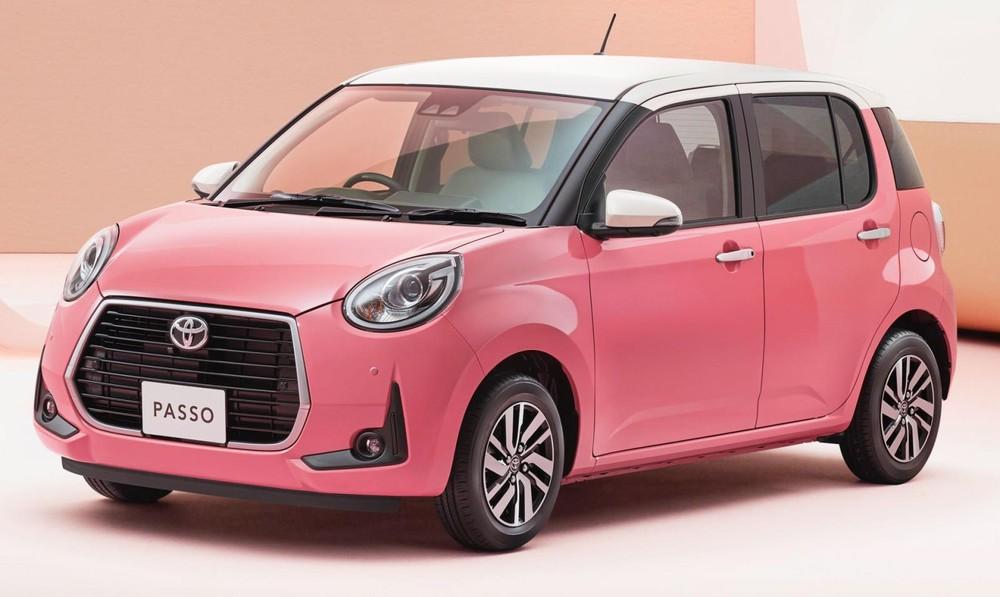 Toyota Passo Moda Charm là một mẫu xe chỉ bán ở nội địa Nhật Bản