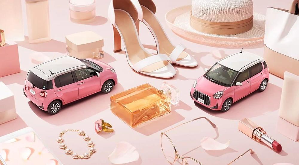 Toyota Passo Moda Charm được ví như một đồ trang sức, làm đẹp cho phụ nữ