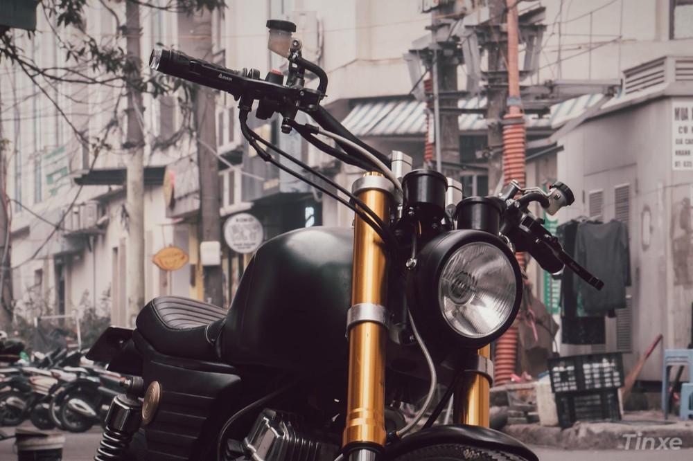 Honda LA250 Custom The Armiger by Zife