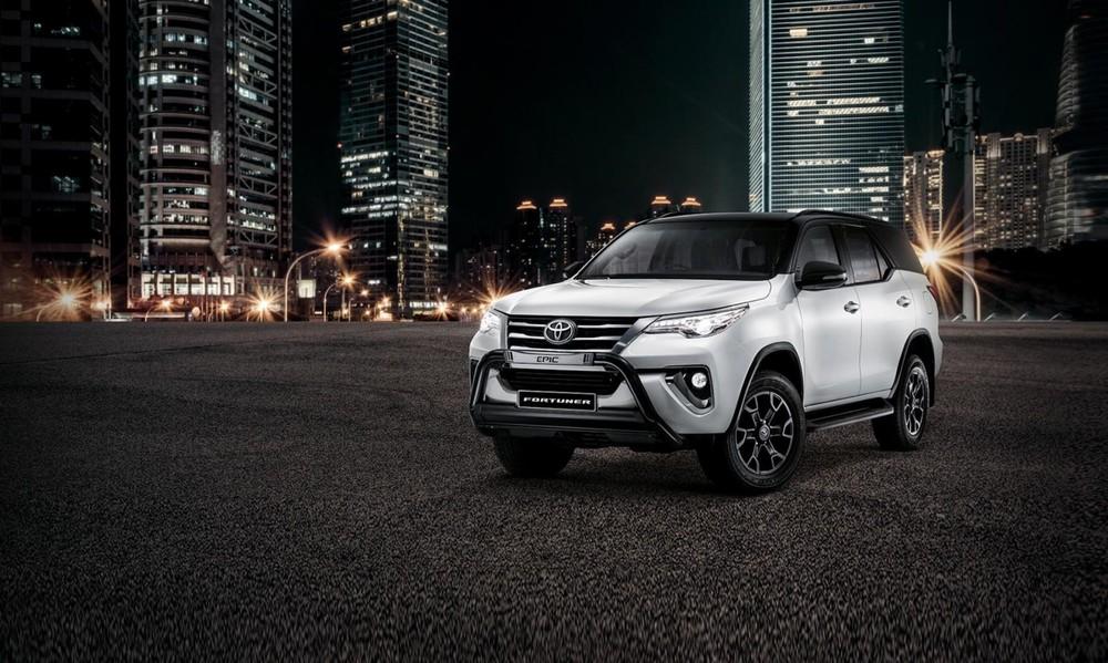 Toyota Fortuner Epic dành cho thị trường Nam Phi