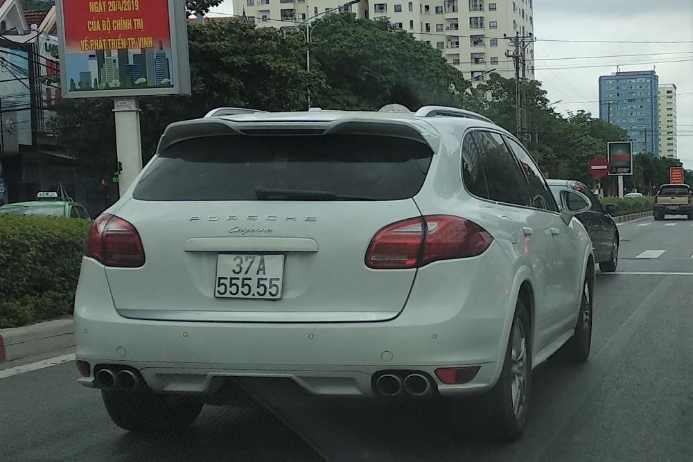 Biển số xe Nghệ An có ký hiệu mã số đầu là 37
