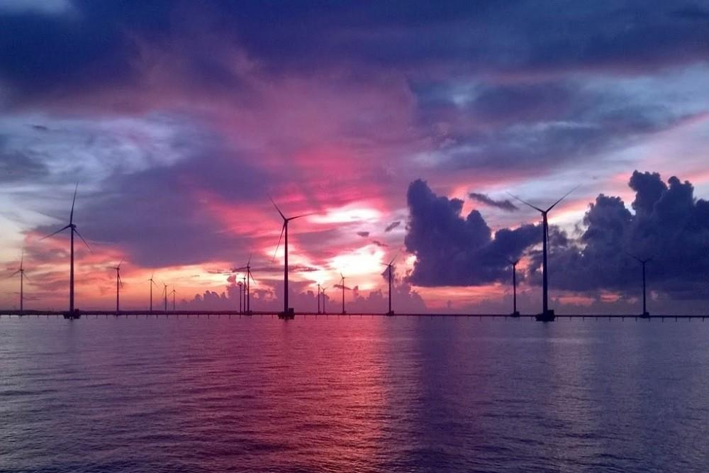 Bạc Liêu có công trình điện gió lớn nhất Việt Nam