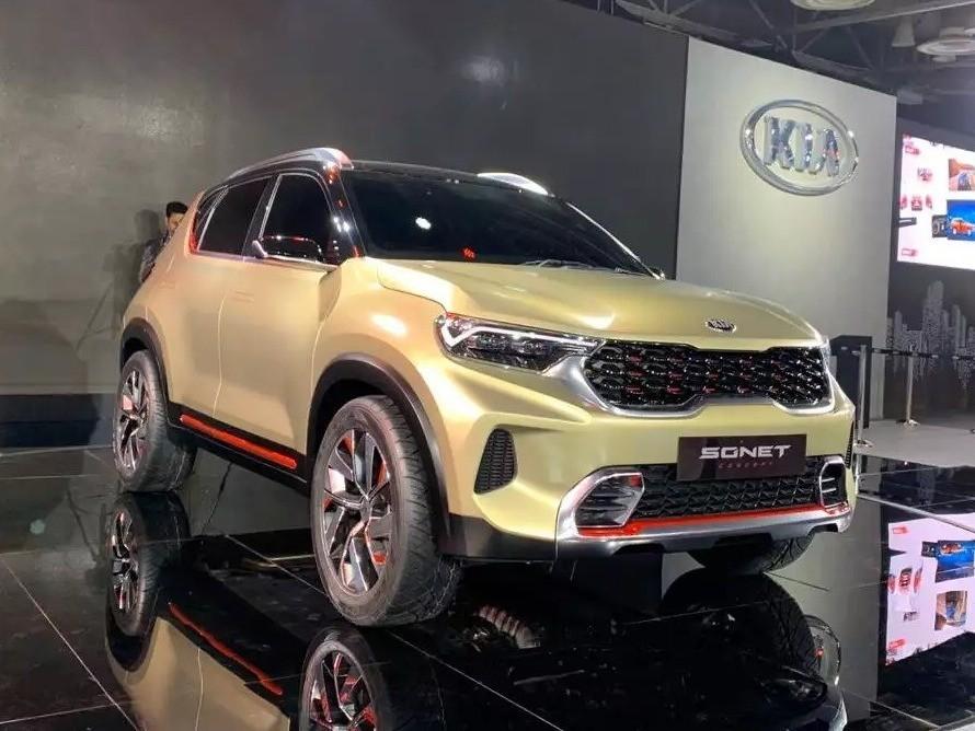 SUV giá rẻ Kia Sonet 2021 lộ thiết kế nội thất khá sang ...