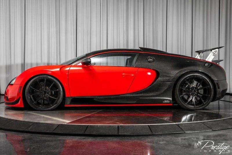 Trong tổng cộng 450 chiếc Bugatti Veyron được sản xuất còn có nhiều phiên bản sản xuất với số lượng giới hạn hơn. Chẳng hạn như Bugatti Veyron Mansory Linea Vivere chỉ có 2 chiếc trên toàn thế giới.