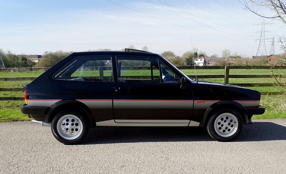 Chiếc Ford Fiesta chuẩn bị được bán đấu giá