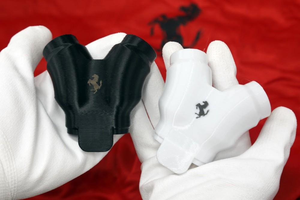 Van hô hấp của Ferrari được sử dụng công nghệ in 3D.