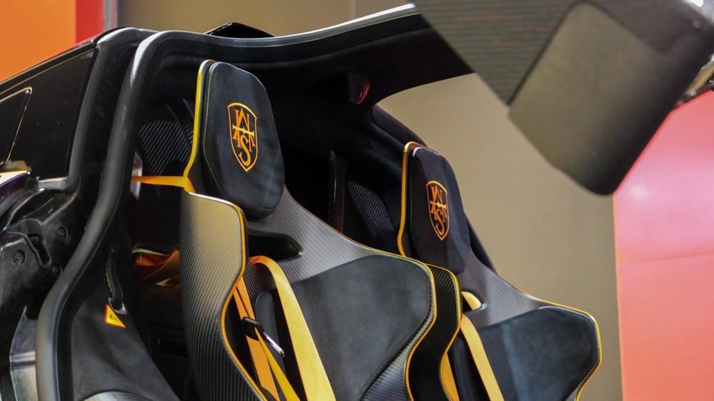 Nội thất siêu xe McLaren Senna của doanh nhân quận 12