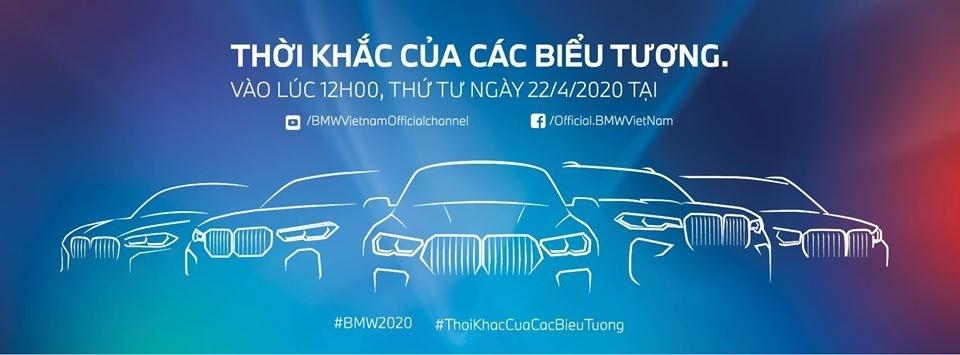 THACO sẽ ra mắt loạt xe BMW mới vào ngày 22/4/2020 thông qua việc livestream trên mạng xã hội gồm Facebook và Youtube
