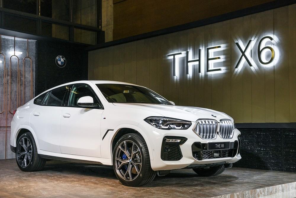 BMW X6 2020 cũng sẽ là tâm điểm của buổi ra mắt tới đây