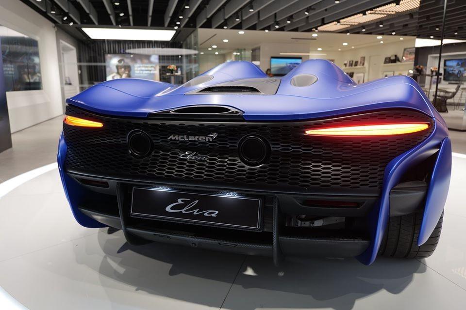 Elva là siêu xe nhẹ nhất của thương hiệu McLaren