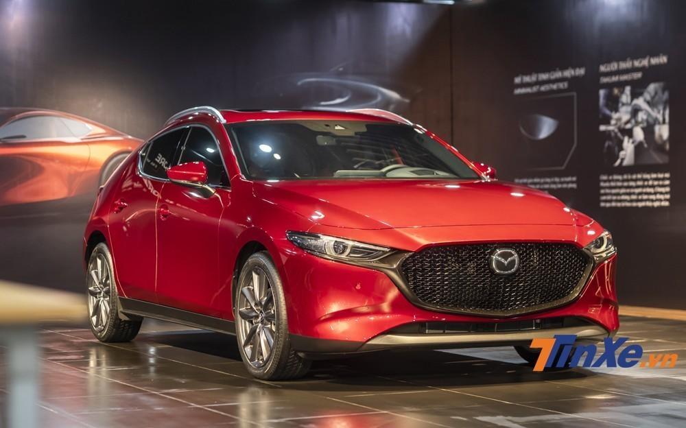Mazda3 2020 phiên bản Premium gặp lỗi của hệ thống phanh tự động khẩn cấp đã được Mazda Việt Nam triệu hồi.  mẫu xe hạng C ăn khách tại thị trường Việt Nam.
