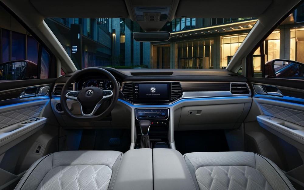 Nội thất bên trong Volkswagen Viloran 2020