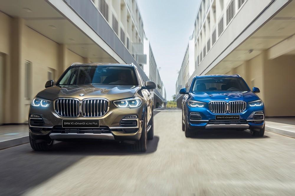 BMW X5 xDrive40i xLine và xDrive40i xLine Plus 2020