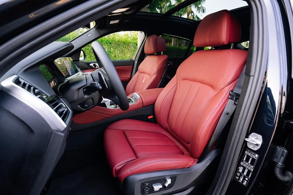 Ghế ngồi xe BMW X6 xDrive40i M Sport 2020