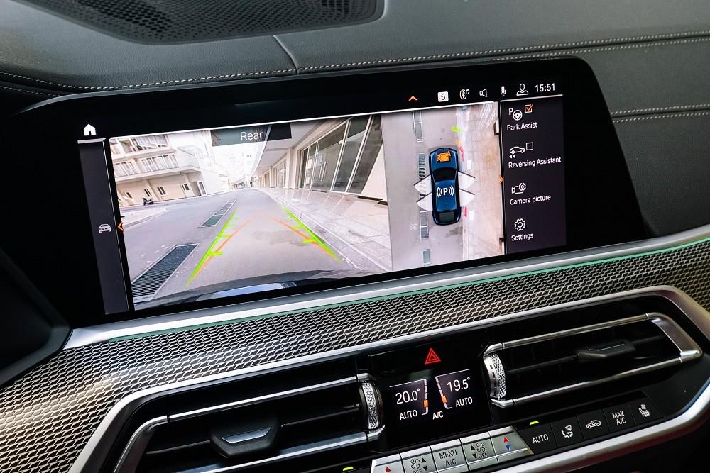 Hệ thống hỗ trợ đỗ xe BMW X6 xDrive40i M Sport 2020
