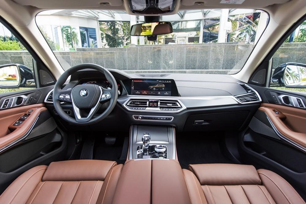 Nội thất BMW X5 xDrive40i xLine Plus 2020